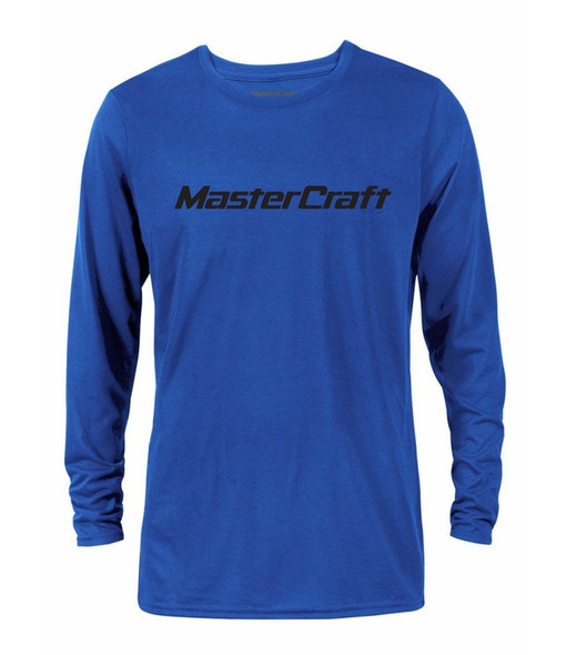 MasterCraft Logo Mens Long Sleeve Performance T
