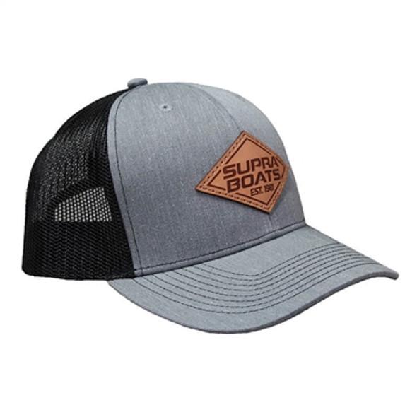 Supra Diamond Hat - Heather Grey