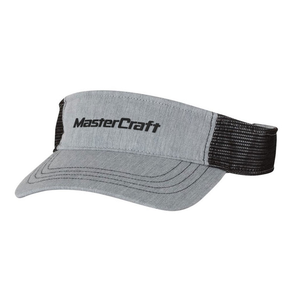 MasterCraft Classic Logo Visor Heather Grey