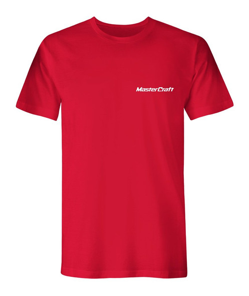 MasterCraft Classic Logo Left Chest Men's T-Shirt