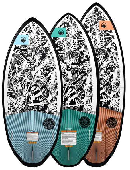Liquid Force Primo LTD Wakesurf Board with Foot Straps