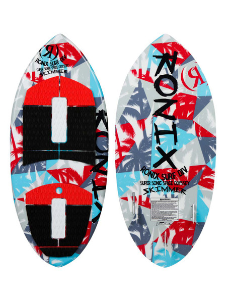 "2021 Ronix Super Sonic Space Odyssey Skimmer Wakesurf Board -3'11"" 1"