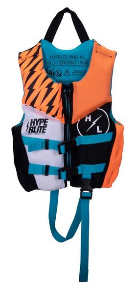 Hyperlite Boys Child Indy Life Jacket 1