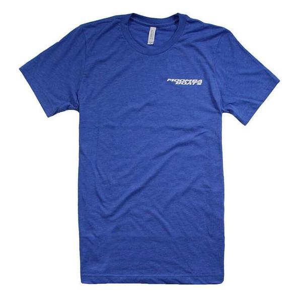 Moomba Good Vibes T-Shirt - Heather Royal 1