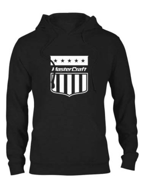 Mastercraft Shield Hooded Sweatshirt - Black