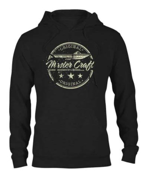 Mastercraft Vintage Hooded Sweatshirt - Black