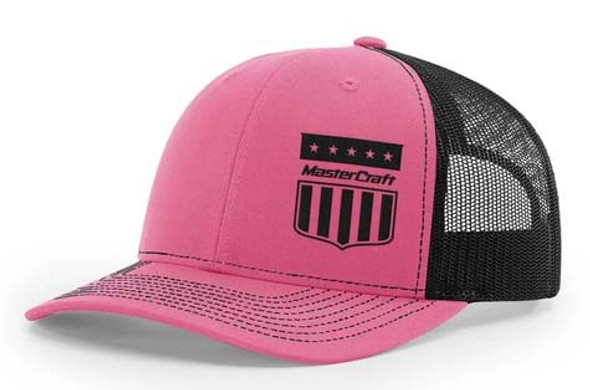 Mastercraft Shield Hat - Pink 1
