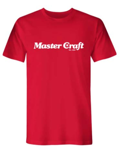 Mastercraft Legacy T-Shirt - Red