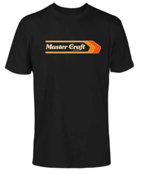 Mastercraft Vintage Lines T-Shirt - Black