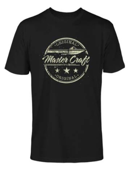 Mastercraft Vintage Original T-Shirt - Black