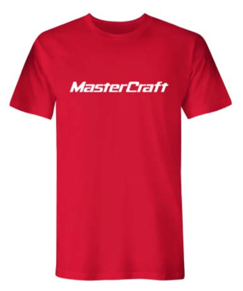 Mastercraft Classic Logo T-Shirt - Red