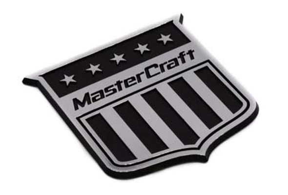 Mastercraft Plastic Shield - Chrome/Black