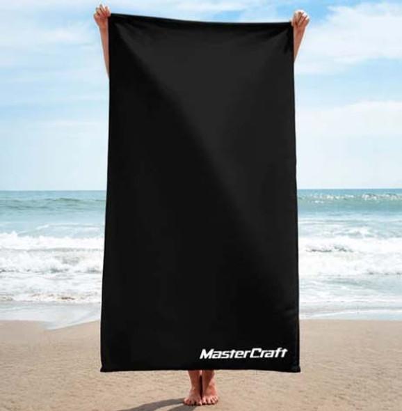 Mastercraft Classic Logo Towel - Black