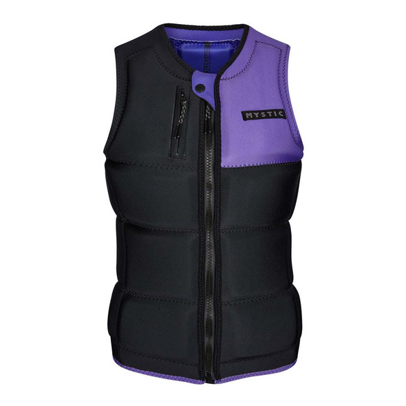 2021 Mystic Dazzled Life Vest - Black/Purple 1