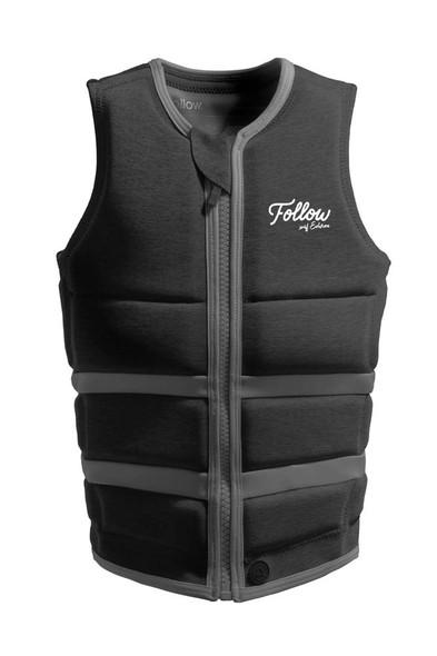 2021 Follow Ladies Surf Edition Life Vest - Charcoal