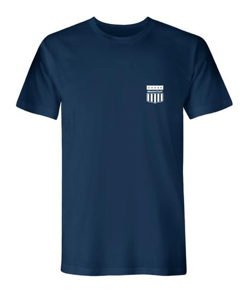 MasterCraft Shield Left Men's T-Shirt (Navy)