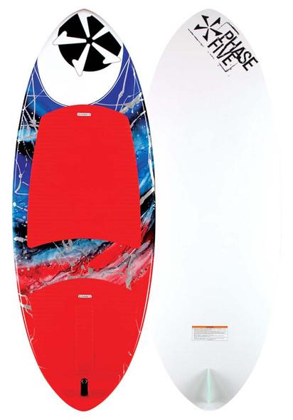 "2021 Phase 5 Oogle Wakesurf Board-58"" | Up to 235lbs"