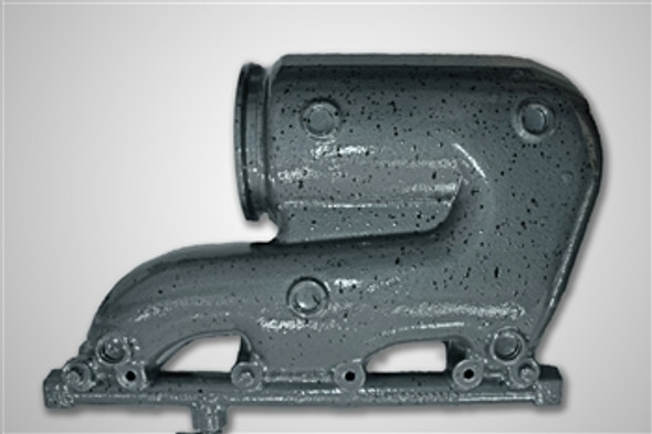 Ilmor Exhaust Manifold with Catalyst Starboard | PE01446