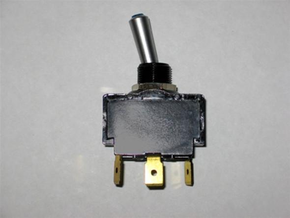 MasterCraft Toggle Switch Blue LED 2 Position 3 Prong
