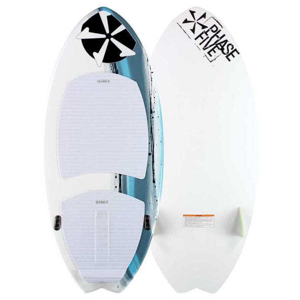"Phase 5 Fish Wakesurf Board - 47""   Up to 140 lbs"