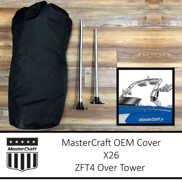MasterCraft X26 Cover | ZFT4 Over Tower