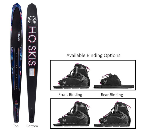 2021 HO Womens Carbon Omni Stance 110 Water Ski Package