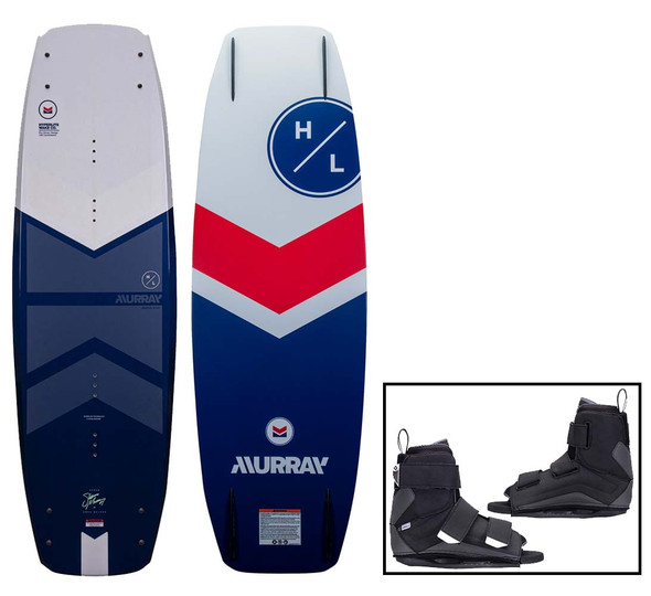 2022 Hyperlite Murray Wakeboard W/Formula Bindings
