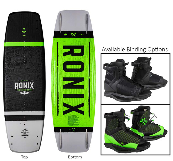 Ronix District Wakeboard Package