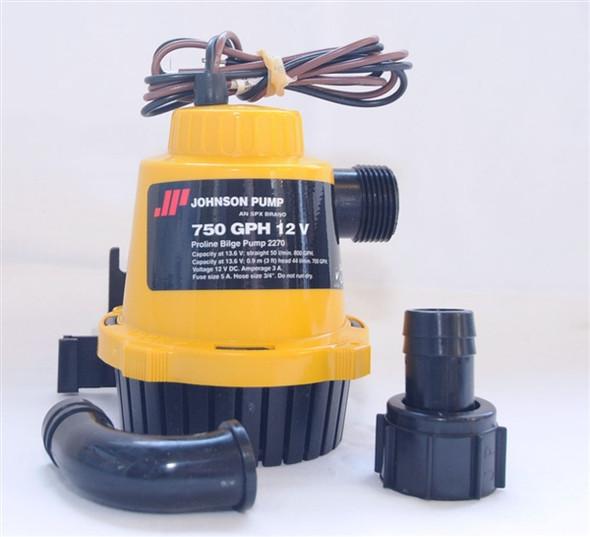 Johnson Bilge Pump 750GPH