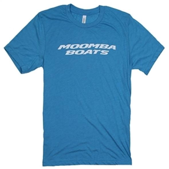 Moomba Premium Aqua Logo T-Shirt