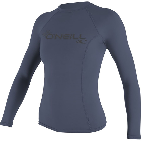 O'Neill Womens Basic Skins L/S Rash Guard