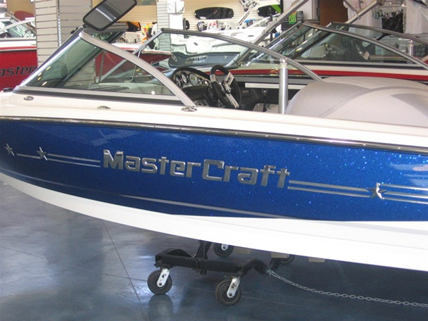 MasterCraft Boats Chrome Decal 42""