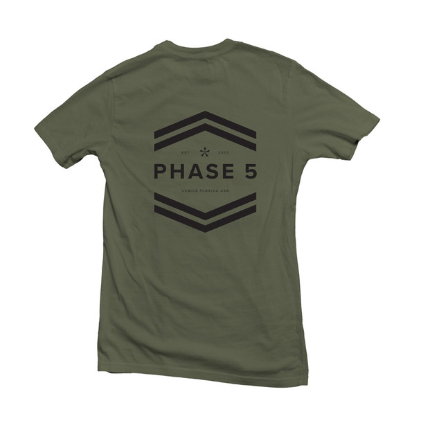 Phase 5 Badge Tee Back