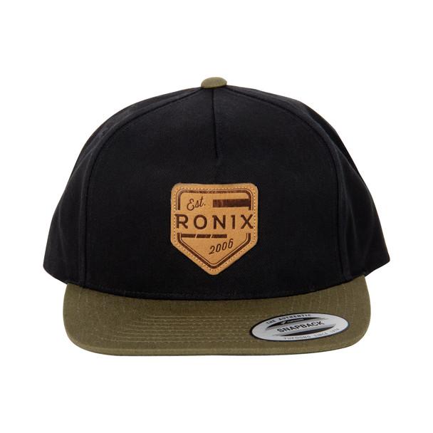 Ronix Forester - Snap Back Hat - Black / Green - Adjustable