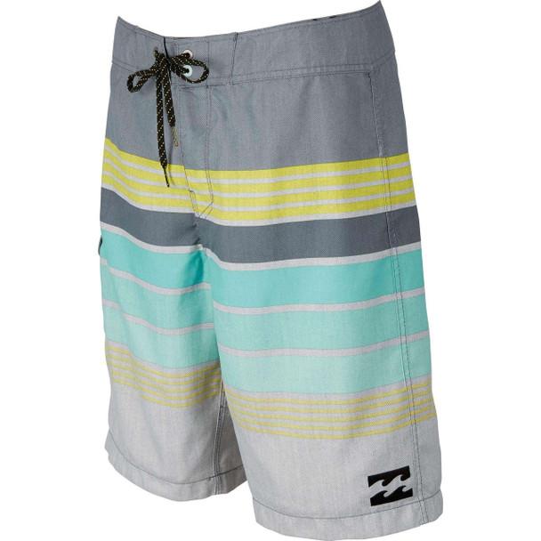 Billabong All Day Stripe Boardshorts Charcoal