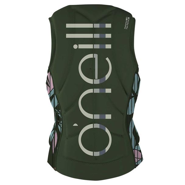 Oneill Womens Slasher Life Vest - Olive