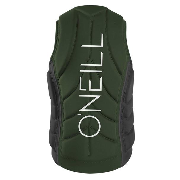 Oneill Mens Slasher Life Vest - Olive