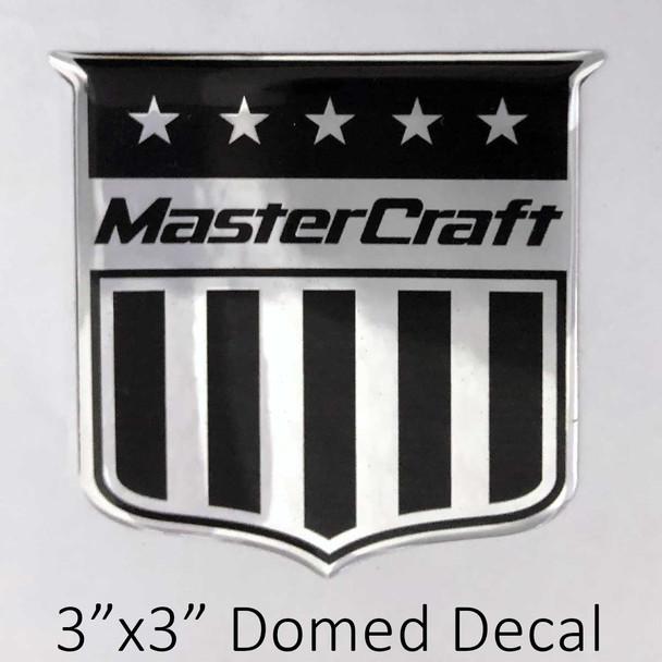 "MasterCraft Shield Decal 3"""