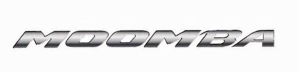 "Moomba Boats Chrome Decal 69"""