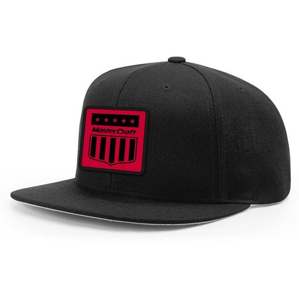 MasterCraft Red Shield Flatbill Hat