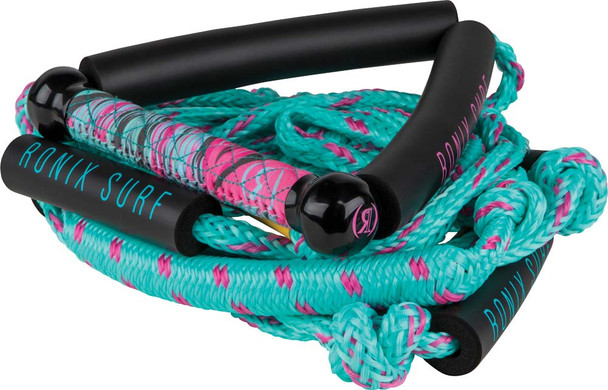 2021 Ronix Womens Bungee 25ft Surf Rope - Pink