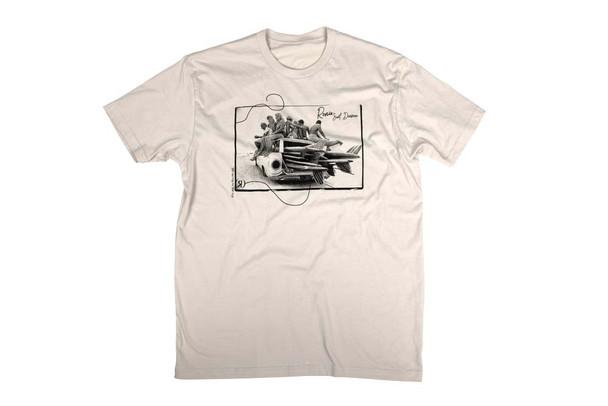 2021 Ronix Surf Babe T-Shirt - Tan/Black