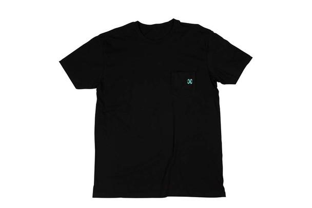 2021 Ronix Homeland Pocket T-Shirt - Black/Blue