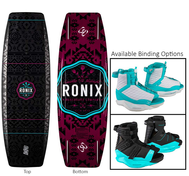 Ronix Quarter Till Midnight Wakeboard Package