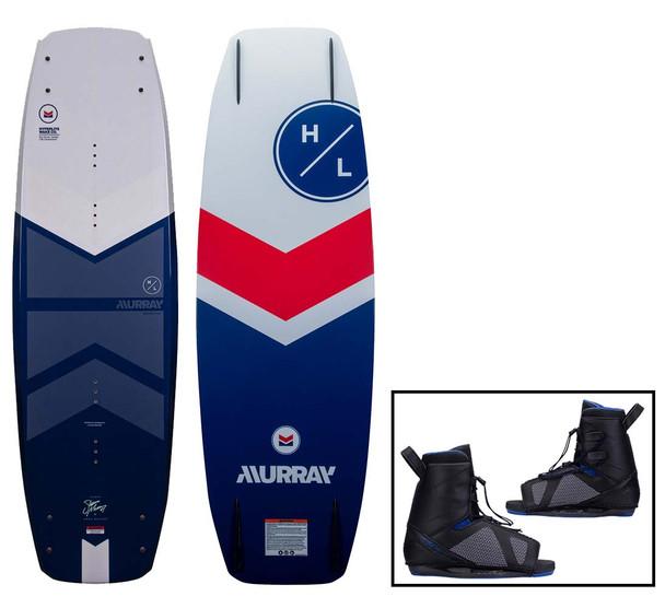 2022 Hyperlite Murray Wakeboard W/Team OT Bindings
