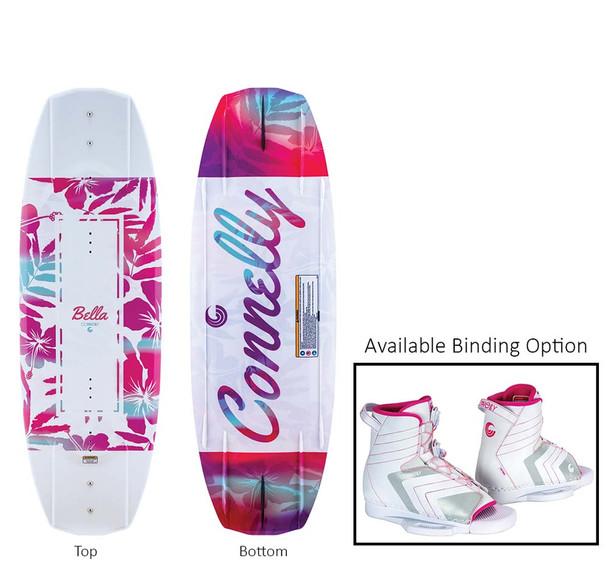 2021 Connelly Bella 124 W/Optima Bindings