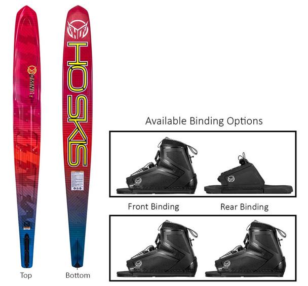 2021 HO Boys Omni Stance 110 Water Ski Package
