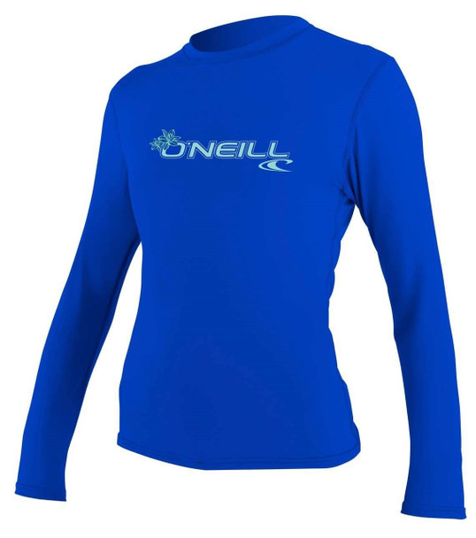 O'Neill Womens Basic Skins L/S Sun Shirt 1