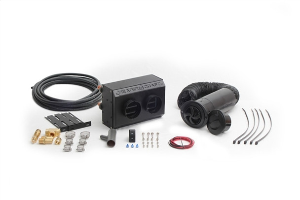 2 Vent Boat Heater Complete Kit