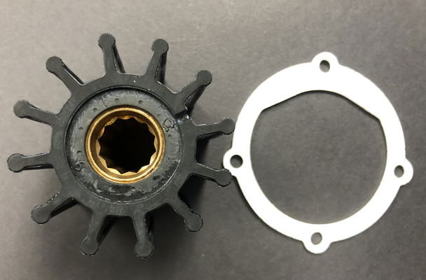 Indmar Raw Water Impeller and Gasket
